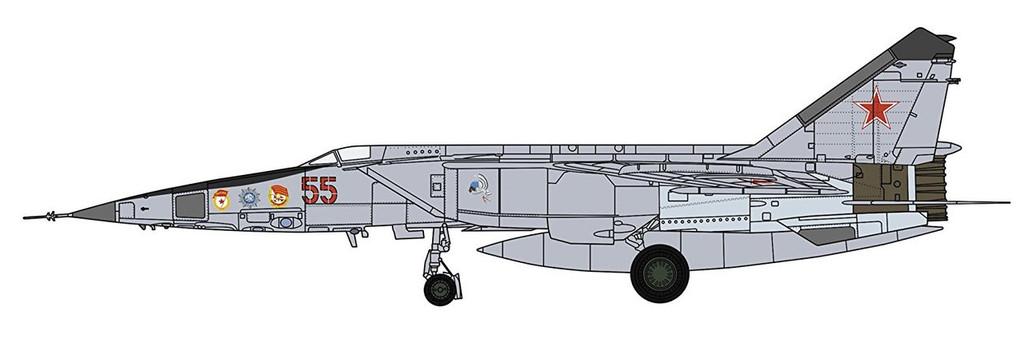 """Hasegawa 07462 MiG-25RBT Foxbat """"Russian Air Force"""" 1/48 scale kit"""