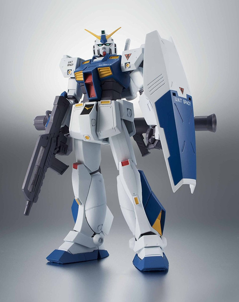 Bandai 225744 Robot Tamashii Gundam 0080 RX-78NT-1 Gundam NT-1 ver. A.N.I.M.E. Figure