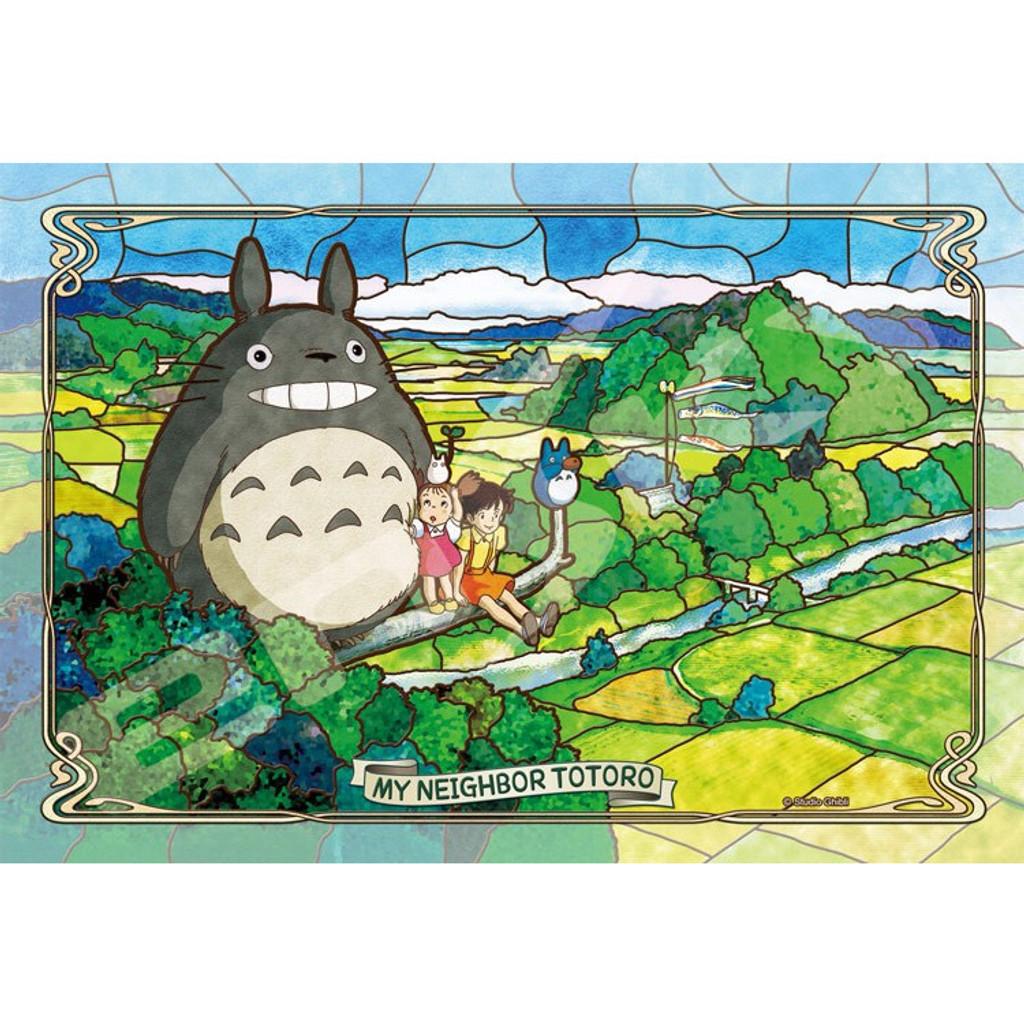 Ensky Frost Art Crystal Jigsaw Puzzle 300-AC036 My Neighbor Totoro (300 Pieces)