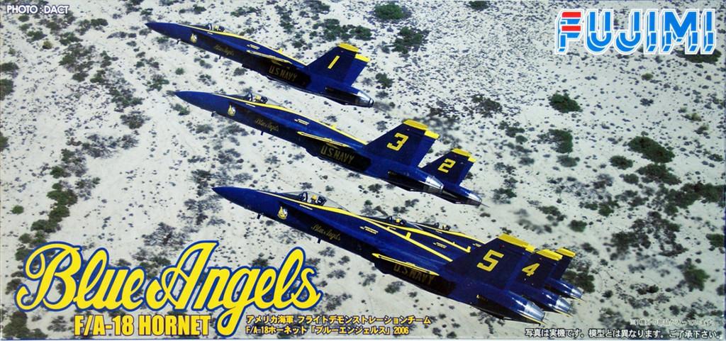 Fujimi F45 F/A-18 HORNET Blue Angels 1/72 Scale Kit