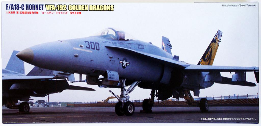 Fujimi F46 F/A-18C Hornet VFA-192 GOLDEN DragonS 1/72 Scale Kit