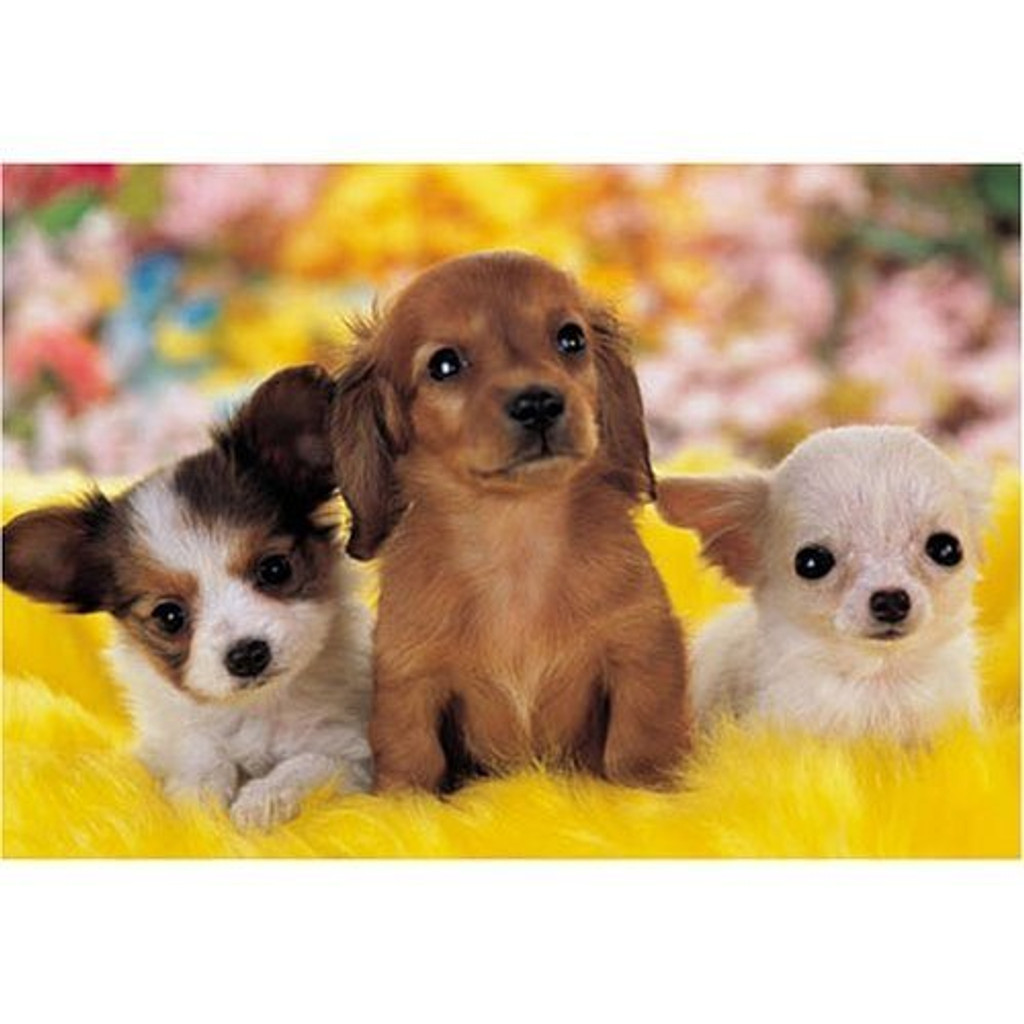 Epoch Jigsaw Puzzle 25-070S Three Dogs (300 Pieces)