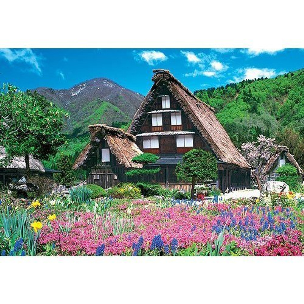 Epoch Jigsaw Puzzle 25-103 Shirakawa-go Japan (300 Pieces)