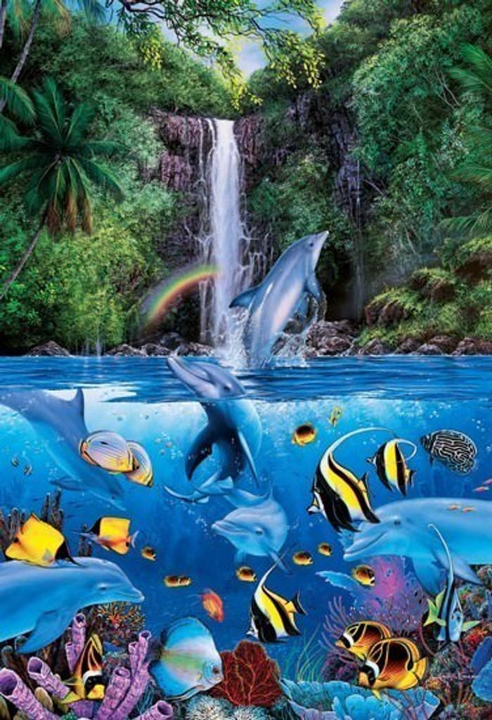 Epoch Jigsaw Puzzle 08-308 Lassen Eternal Rainbow Sea I (450 S-Pieces)
