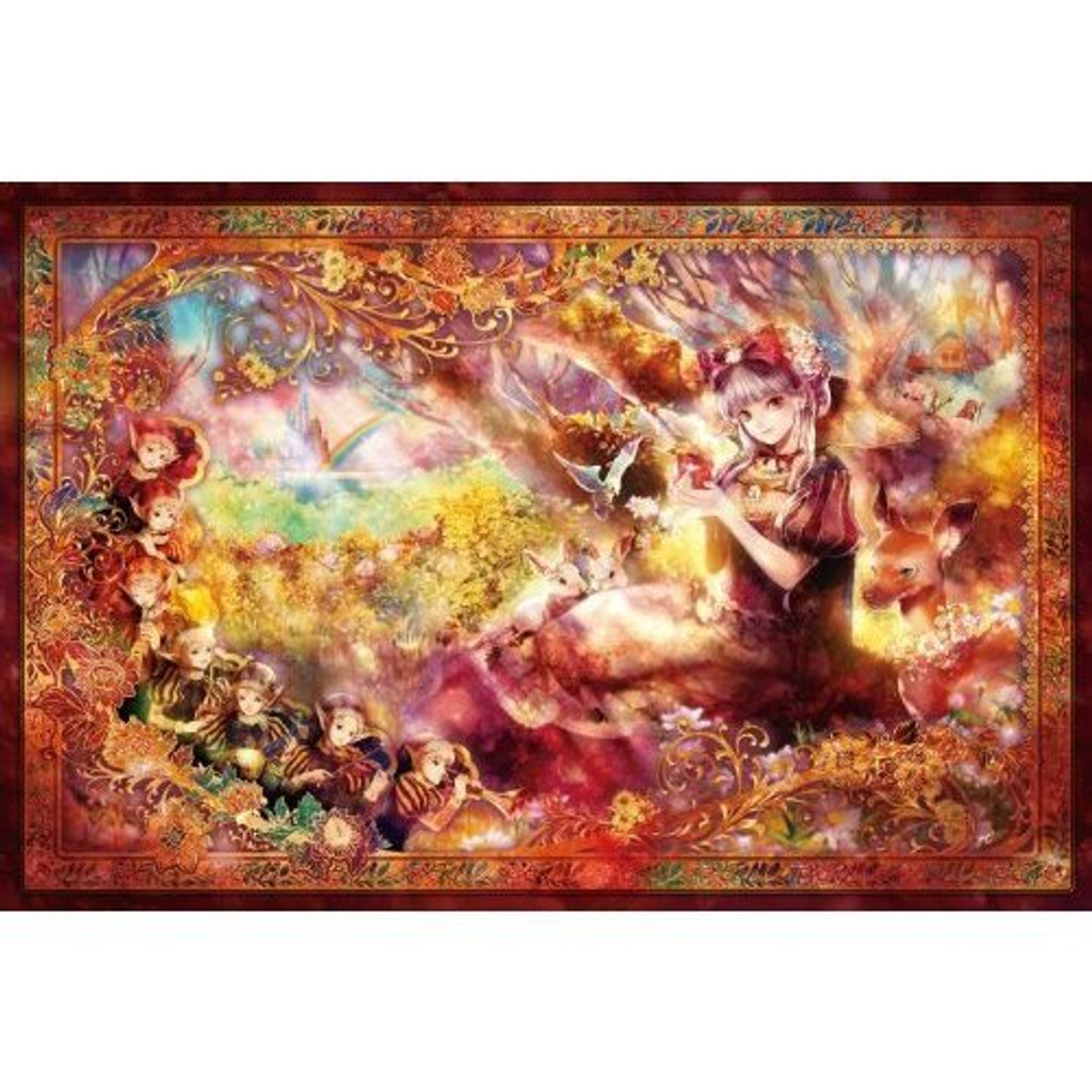 Epoch Jigsaw Puzzle 11-394 Fantasic Art Shirayukihime (1000 Pieces)