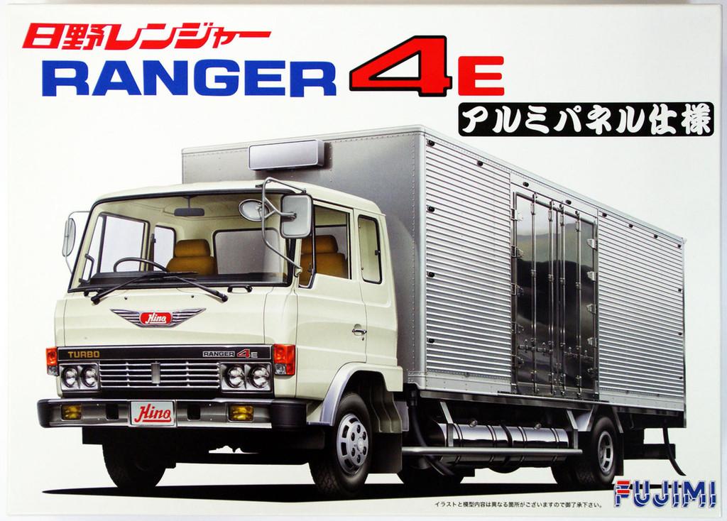 Fujimi TR10 Hino Ranger Truck 4E Aluminum Panel 1/32 Scale Kit