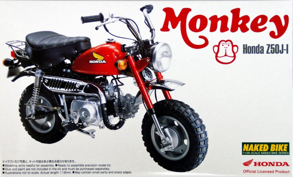 Aoshima Naked Bike 19 48771 Honda Monkey 1978 1/12 Scale Kit