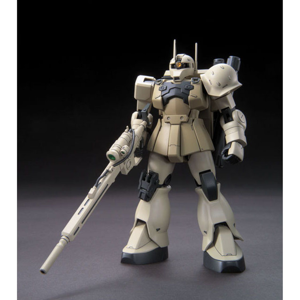 Bandai HGUC 137 Gundam MS-05L Zaku I Sniper Type (YOnem Kirks) 1/144 Scale Kit