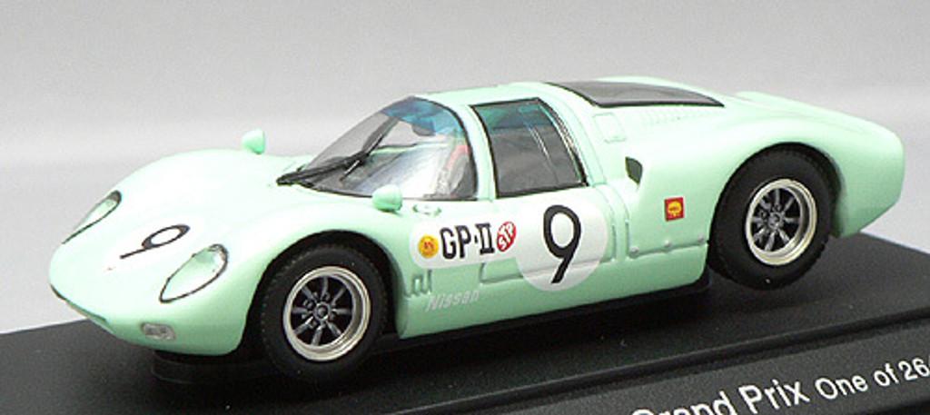 Ebbro 43384 Nissan R380II No.9 (Green) 1/43 Scale