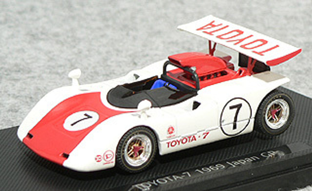 Ebbro 43712 Toyota 7 Japan Kangnam 1969 No.7 (Red) 1/43 Scale