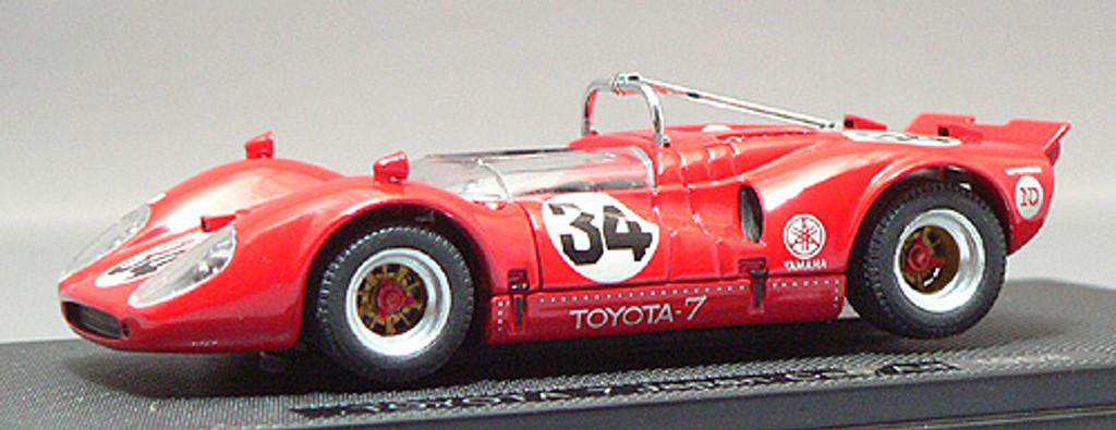 Ebbro 43879 Toyota 7 Japan Kangnam 1968 No.34 (Red) 1/43 Scale