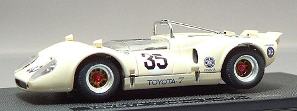 Ebbro 43880 Toyota 7 Japan Kangnam 1968 No.35 (Yellow) 1/43 Scale