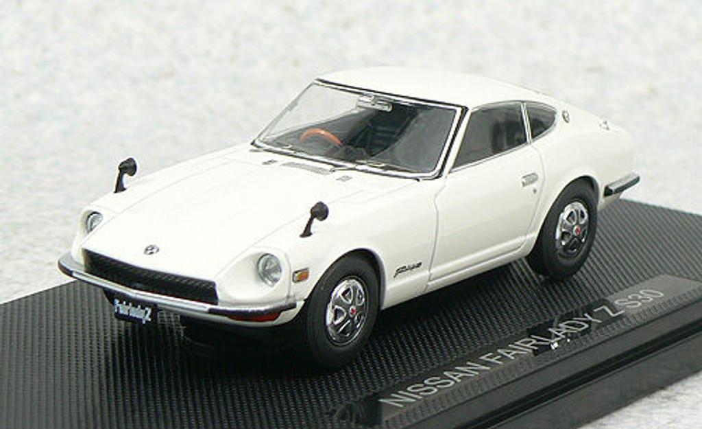 Ebbro 44001 NISSAN FAIRLADY Z S30 White 1/43 Scale