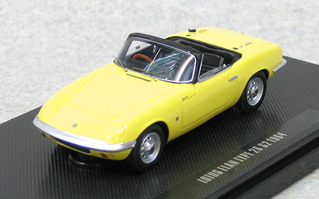 Ebbro 44164 Lotus Elan S2 TYPE 26 (Yellow) 1/43 Scale