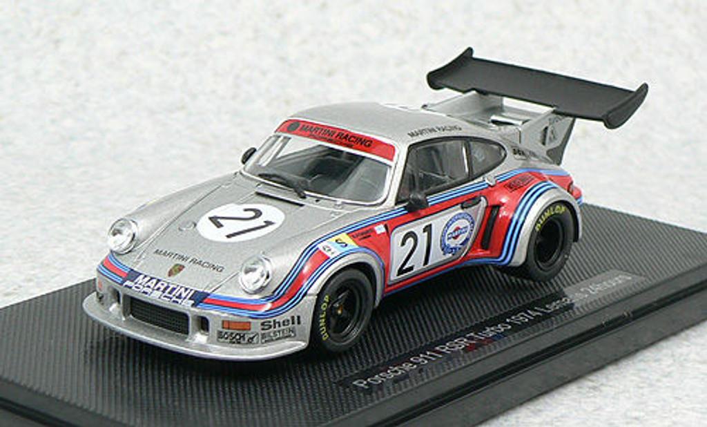 Ebbro 44307 PORSCHE 911 RSR TURBO LE MANS 1974 #21 1/43 Scale