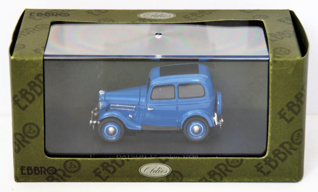 Ebbro 44346 Datsun 17 Sedan 1938 (Dark Blue) 1/43 Scale