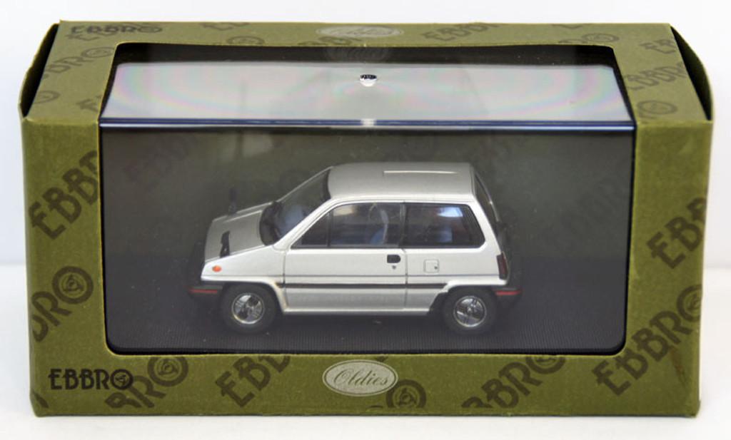 Ebbro 44492 Honda City With Alloy Wheel (Silver) 1/43 Scale