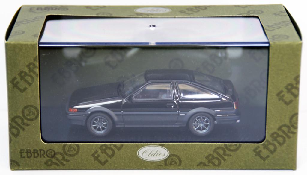 Ebbro 44494 Toyota Sprinter Trueno AE86 With Alloy Wheel (Black) 1/43 Scale