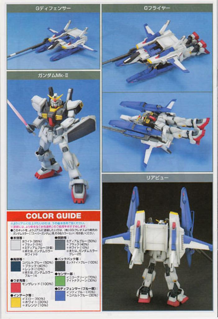 Bandai HGUC 035 Gundam FXA-05D/RX-178 1/144 Scale Kit