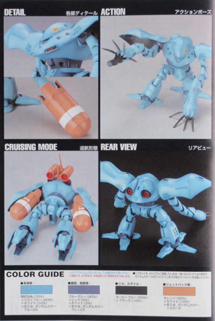 Bandai HGUC 037 Gundam MSM-03C HY-GOGG 1/144 Scale Kit