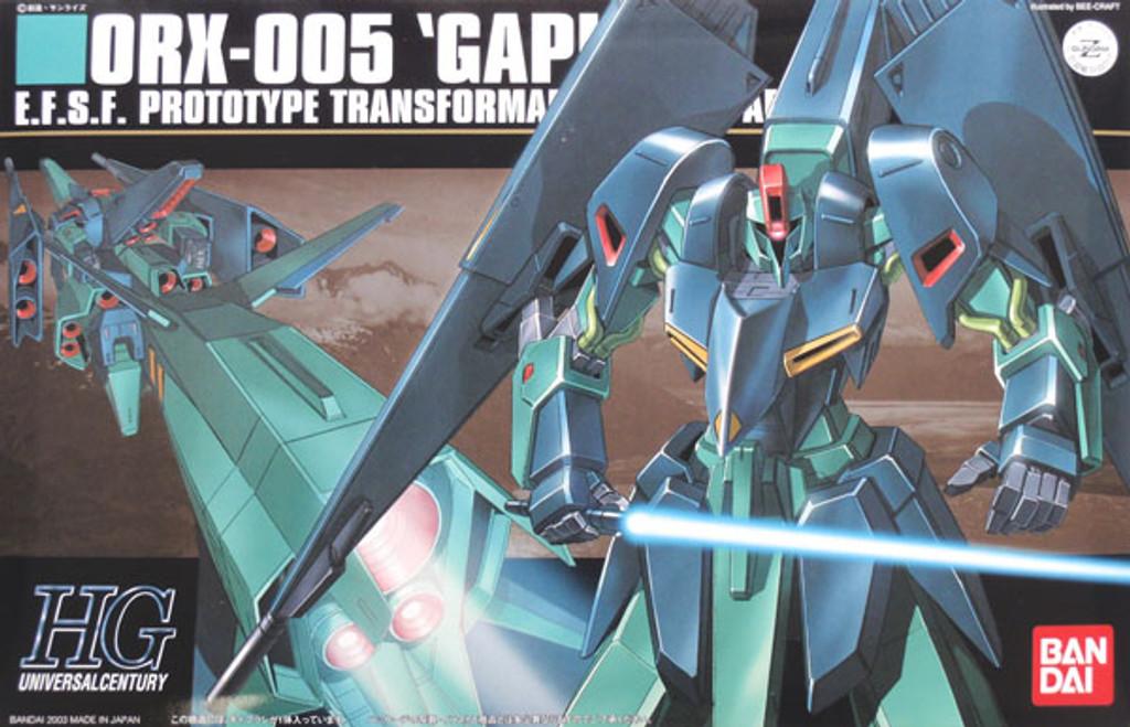 Bandai HGUC 042 Gundam ORX-005 GAPLANT 1/144 Scale Kit