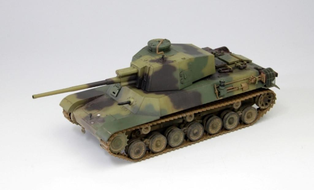 Fine Molds FM33 IJA Medium Tank Type 4 CHI-TO Planned Production Version 1/35 Scale Kit