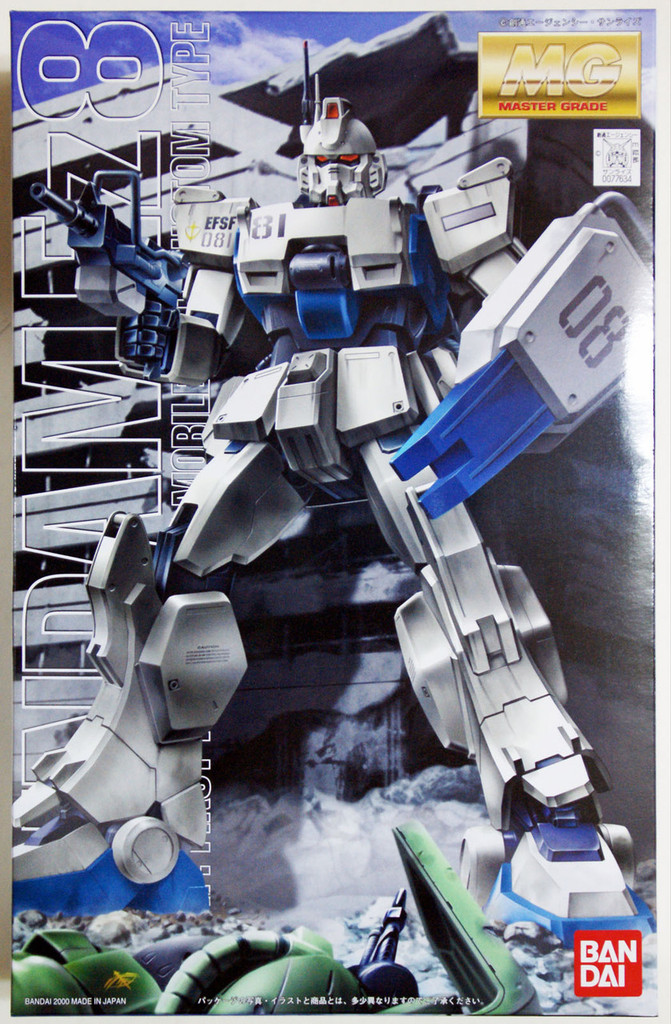 Bandai MG 776347 Gundam RX-79(G) Ez-8 1/100 Scale Kit
