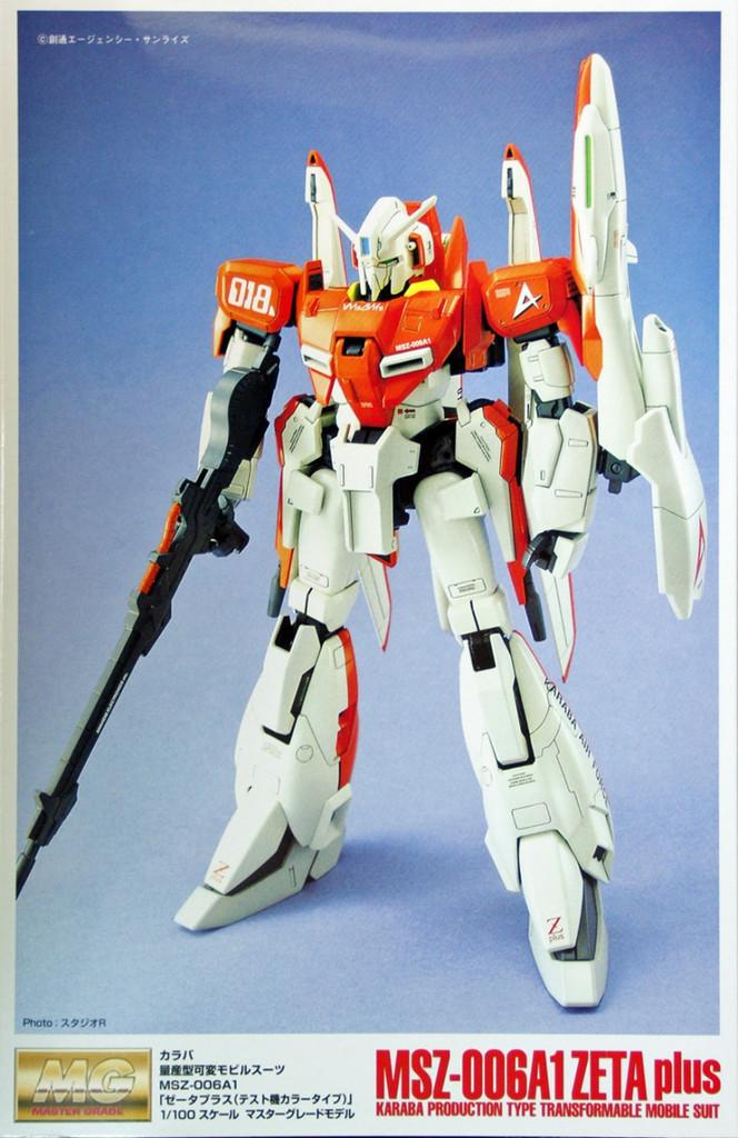Bandai MG 055699 Gundam MSZ-006 A1 ZETA-Plus 1/100 Scale Kit