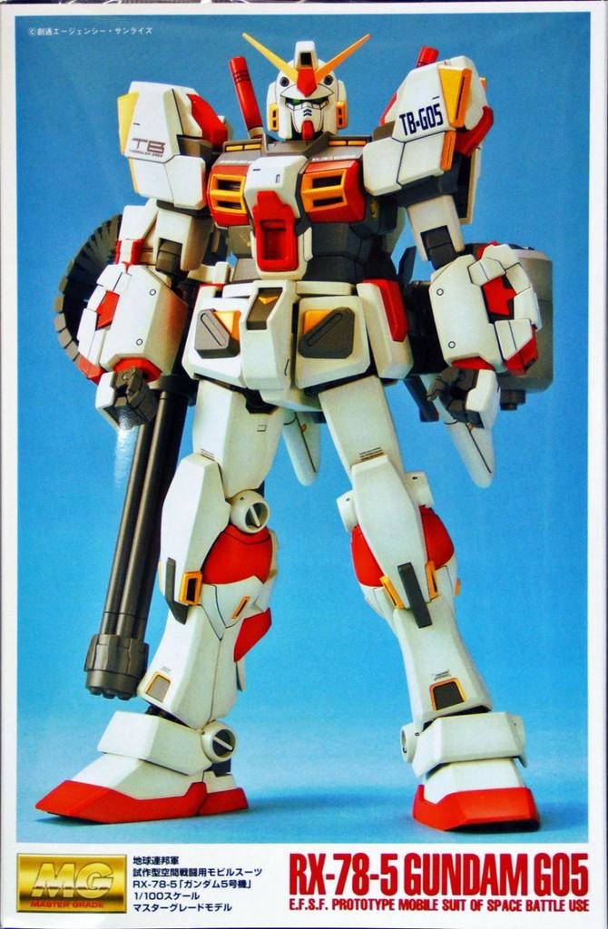 Bandai MG 204677 Gundam RX-78-5 G05 1/100 Scale Kit