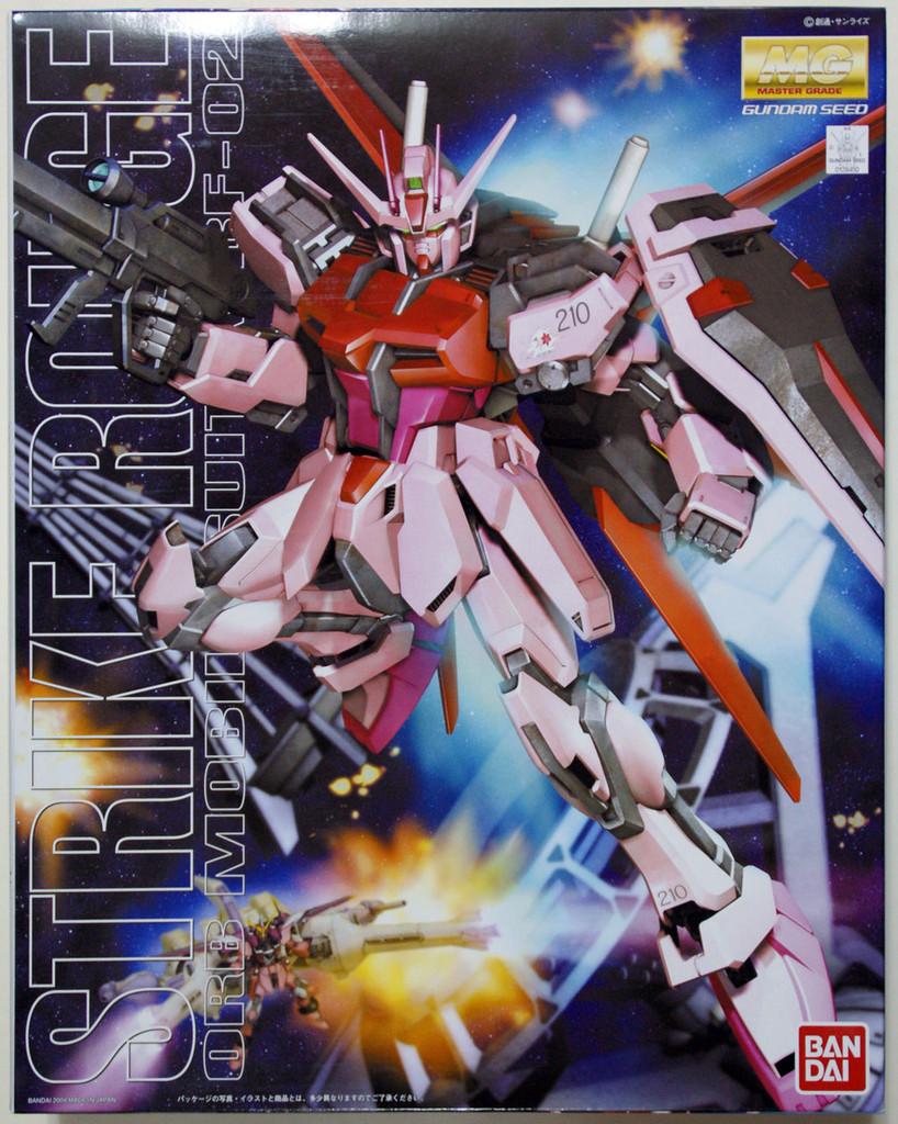 Bandai MG 294500 Gundam STRIKE ROUGE MBF-02 1/100 Scale Kit