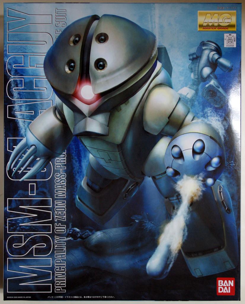 Bandai MG 341082 Gundam MSM-04 ACGUY 1/100 Scale Kit