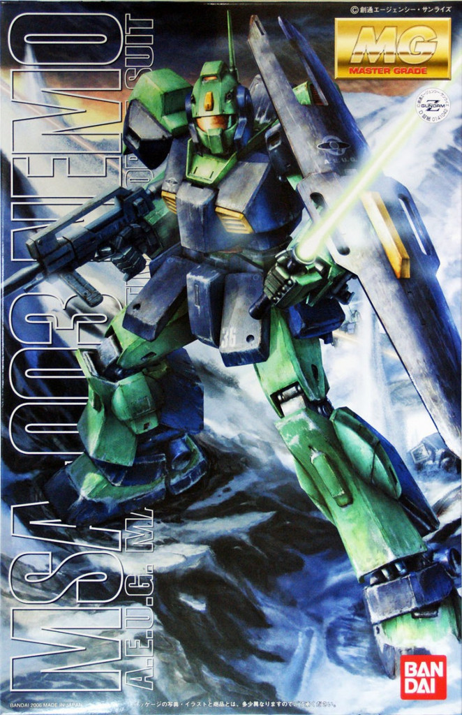 Bandai MG 410429 Gundam MSA-003 Nemo 1/100 Scale Kit