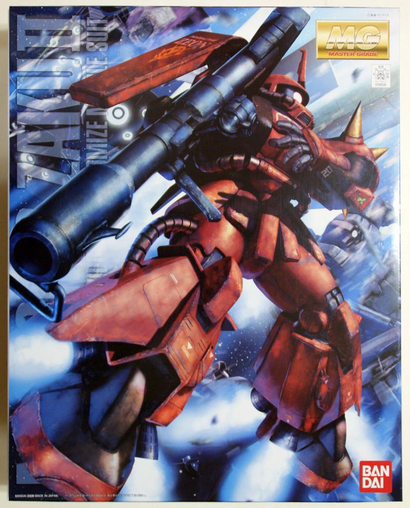 Bandai MG 565358 Gundam MS-06R-2 Zaku II R-2 (J Ridden) 1/100 Scale Kit