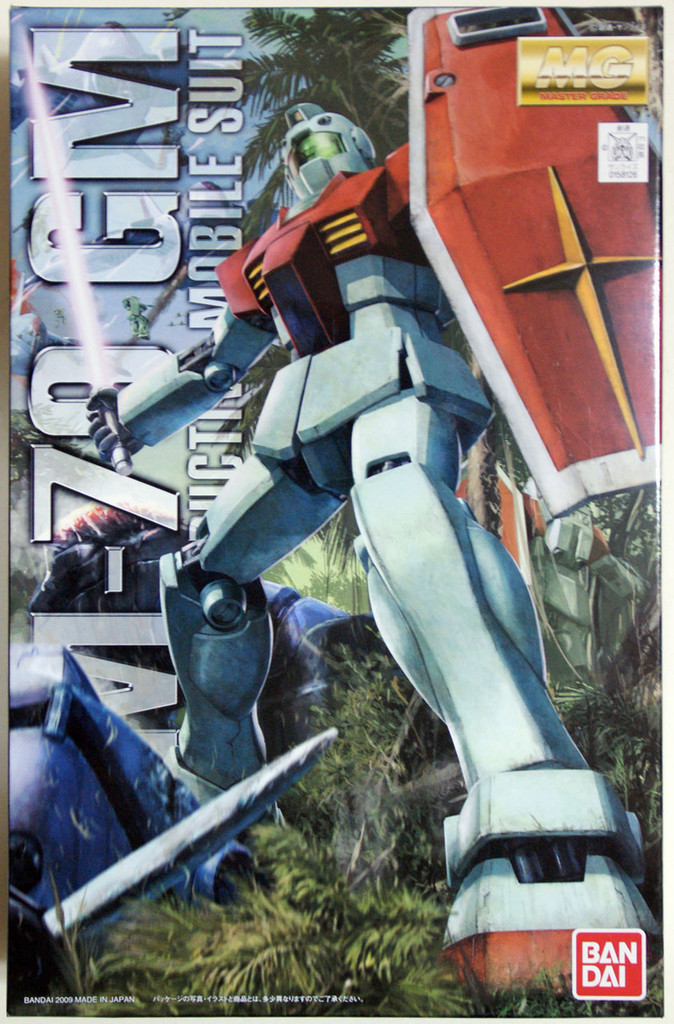 Bandai MG 581266 Gundam RGM-79 GM Version2.0 1/100 Scale Kit