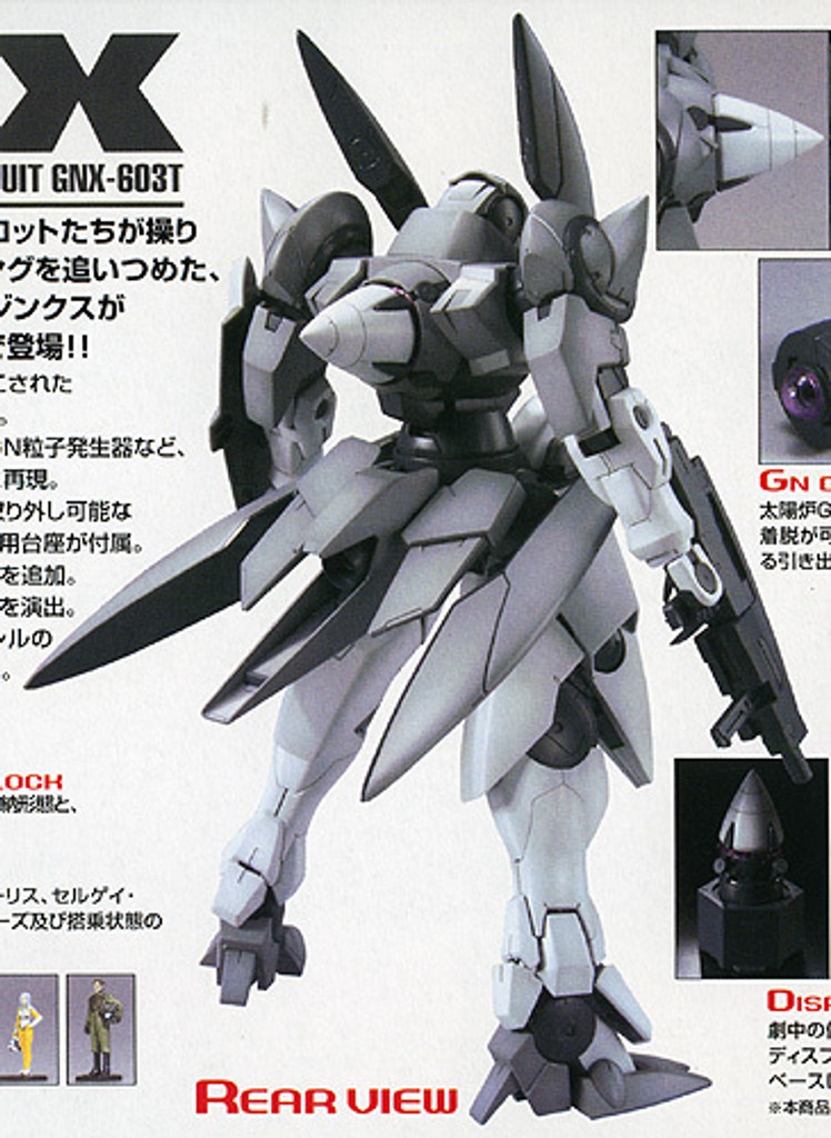 Bandai MG 614179 Gundam GN-X 1/100 Scale Kit