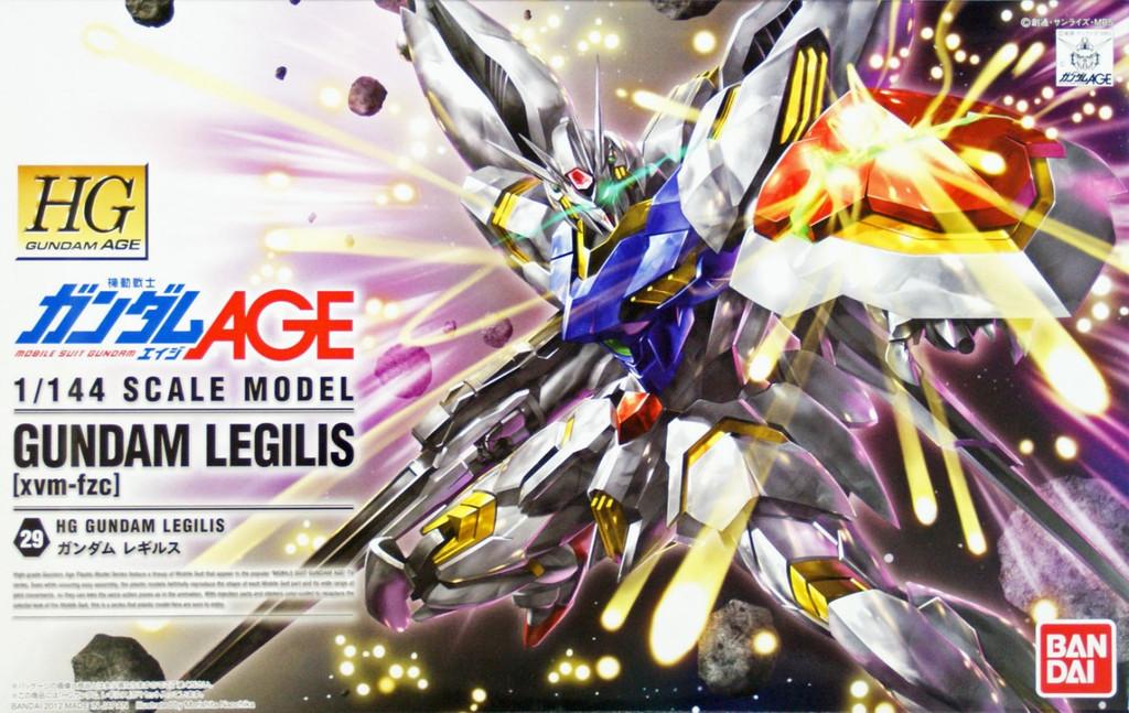 Bandai Gundam HG AGE-29 Gundam Legilis (xvm-fzc) 1/144 Scale Kit