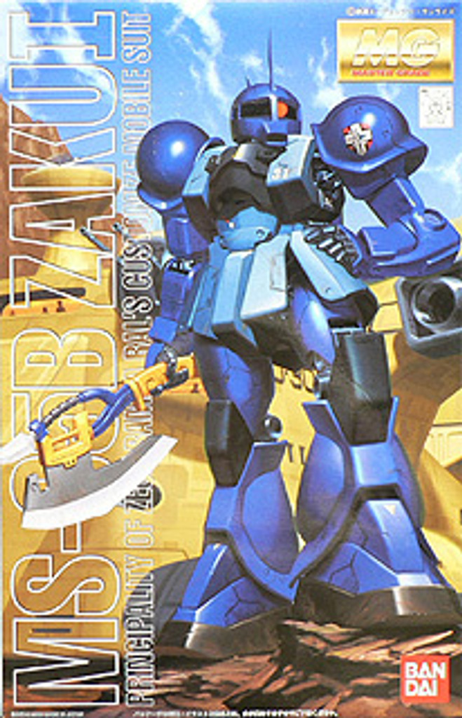 Bandai MG 771687 Gundam MS-05B Zaku I Ramba Ral 1/100 Scale Kit