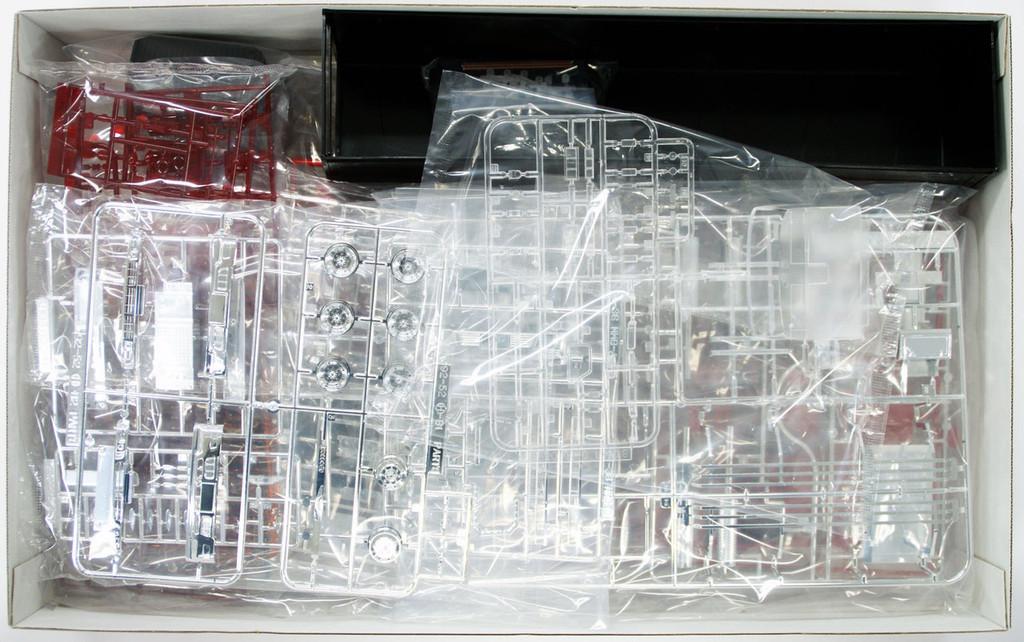 Aoshima 50446 Black Japanese Refrigerator Truck Yukokuresshi 1/32 Scale Kit