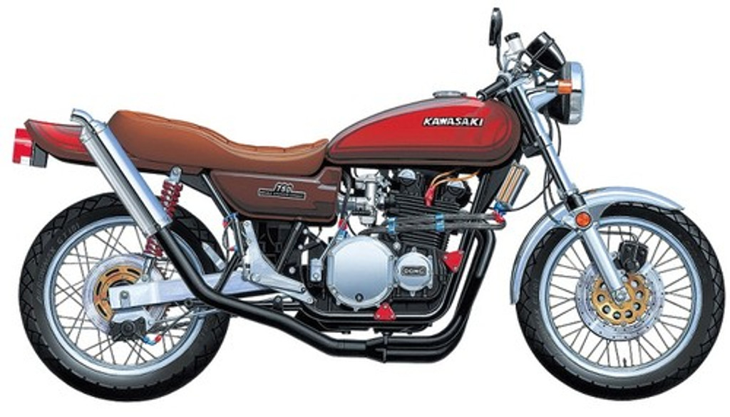 Aoshima 05613 Shonan Lovers GTO The ZII of Legend Motorcycle 1/12 Scale Kit