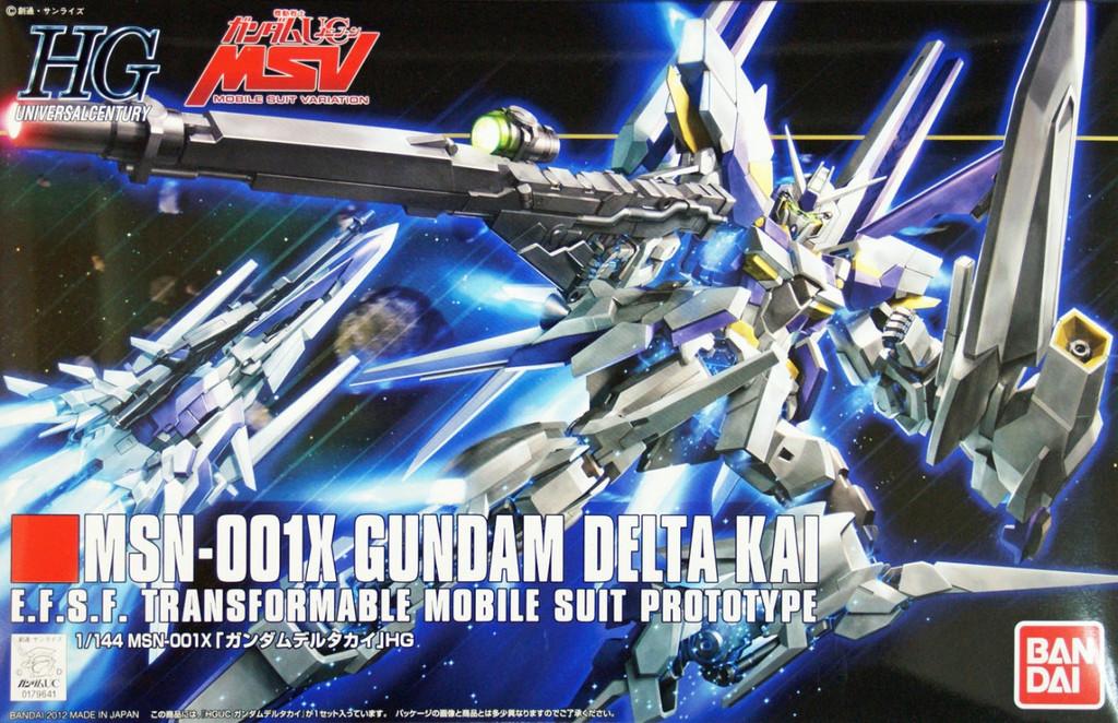 Bandai HGUC 148 Gundam MSN-001X Gundam DELTA KAI 1/144 Scale Kit