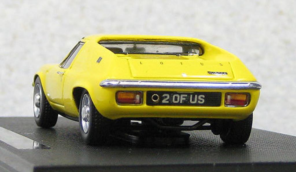 Ebbro 44202 Lotus Europa S2 Yellow (Resin) 1/43 Scale