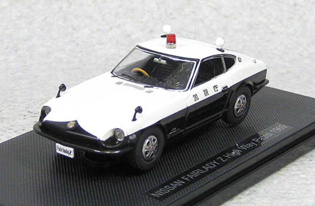 Ebbro 44495 Nissan Fairlady Z High Way Patrol 1969 1/43 Scale