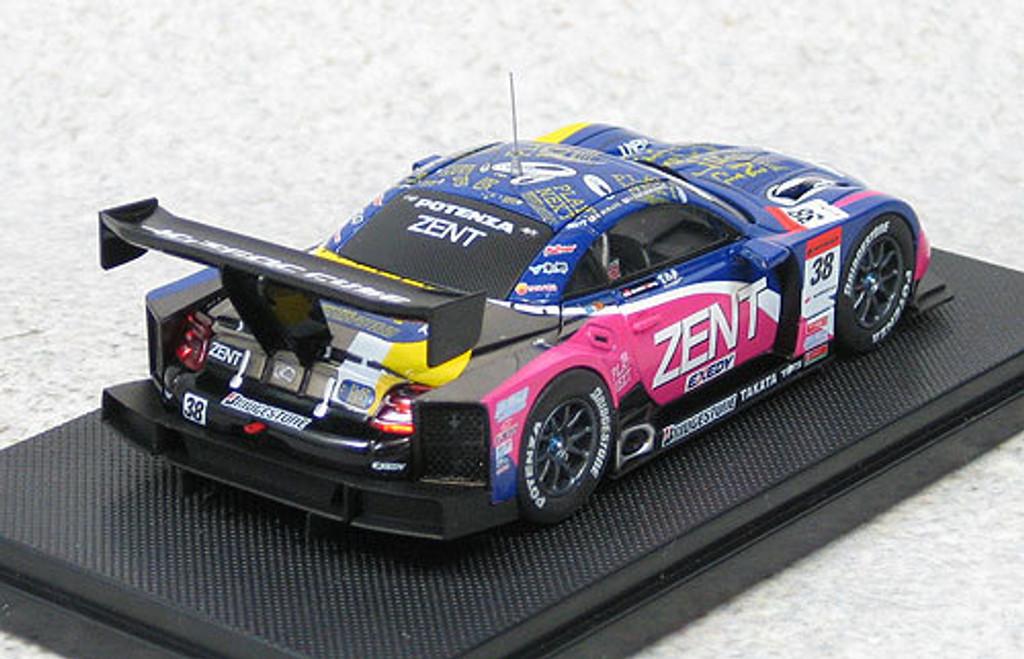 Ebbro 44554 Zent Cerumo SC430 Super GT500 2011 #38 (Blue) 1/43 Scale