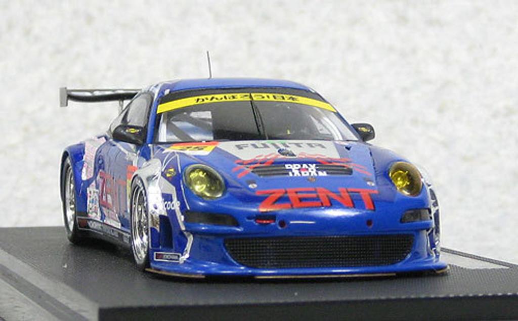 Ebbro 44581 ZENT Porsche RSR Super GT300 2011 #25 (Resin Model) 1/43 Scale