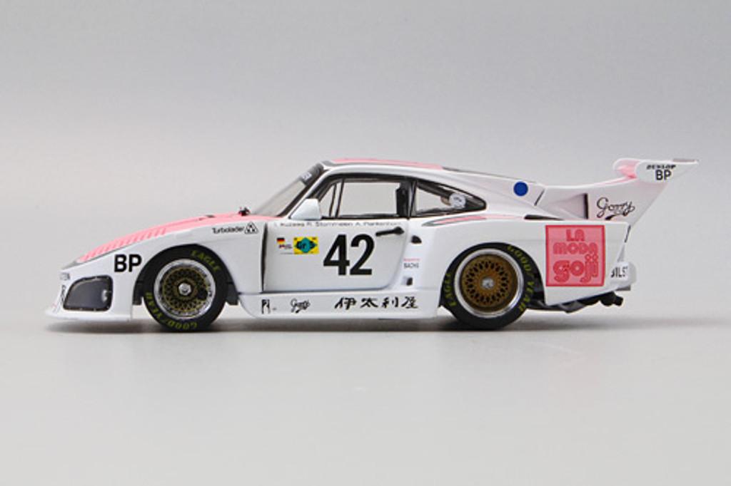 Ebbro 44587 IKUZAWA Italya Porsche 935 K3 LM 1980 1/43 Scale