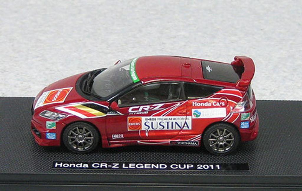 Ebbro 44693 Honda CR-Z Mugen Legend Cup 2011 Set C (Red) 1/43 Scale