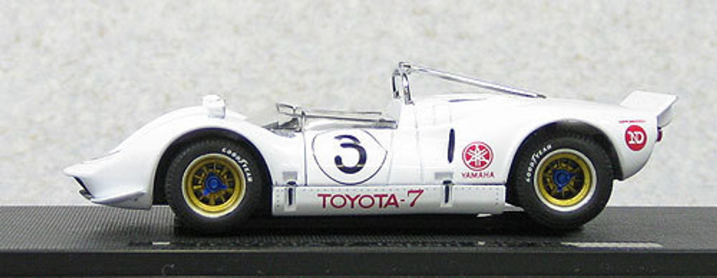 Ebbro 44703 Toyota 7 1968 Japan GP No.3 Fushida (White) 1/43 Scale