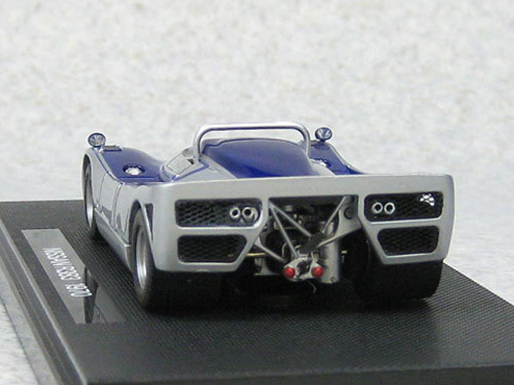Ebbro 44726 Nissan R383 Japan Grand Prix 1970 Prototype (Silver) 1/43 Scale