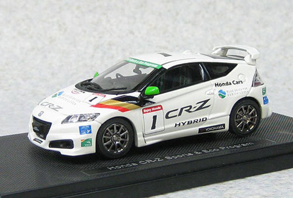 Ebbro 44839 Honda CR-Z Mugen Sport & ECO Program (White) 1/43 Scale
