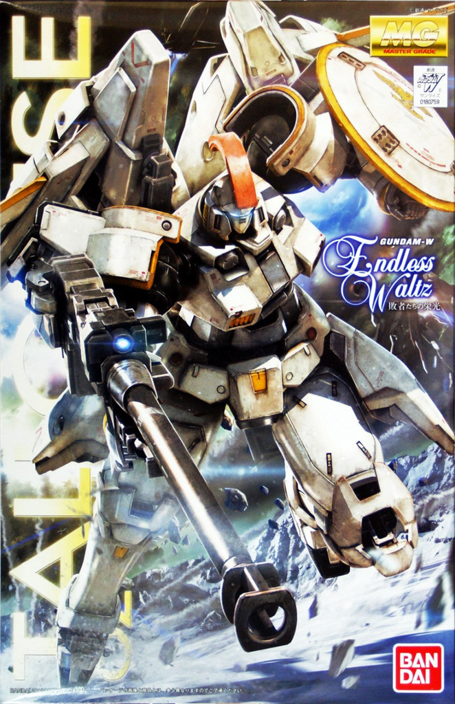 Bandai MG 807595 Gundam Tallgeese I (Endless Waltz) 1/100 Scale Kit